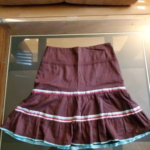 American Eagle Outfitters Ruffled Skirt-0